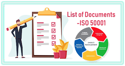 List of documents for ISO 50001 Implementation