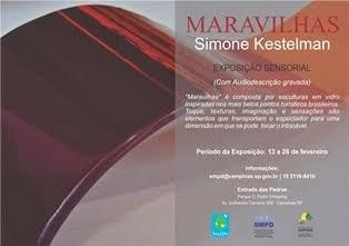 Maravilhas - Exposição Sensorial de Simone Kestelman