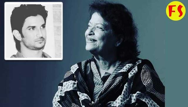 सरोज खान ने अपने इंस्टाग्राम पर आखिरी पोस्ट सुशांत सिंह रजपूत की याद में डाली थी, उन्हें सुशांत की फिल्मे देखना पसंद था