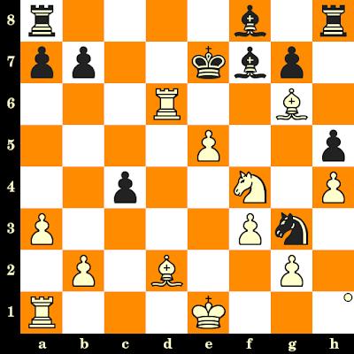 Les Blancs jouent et matent en 3 coups - Ken Rogoff vs Rosendo Balinas, Lone Pine, 1978