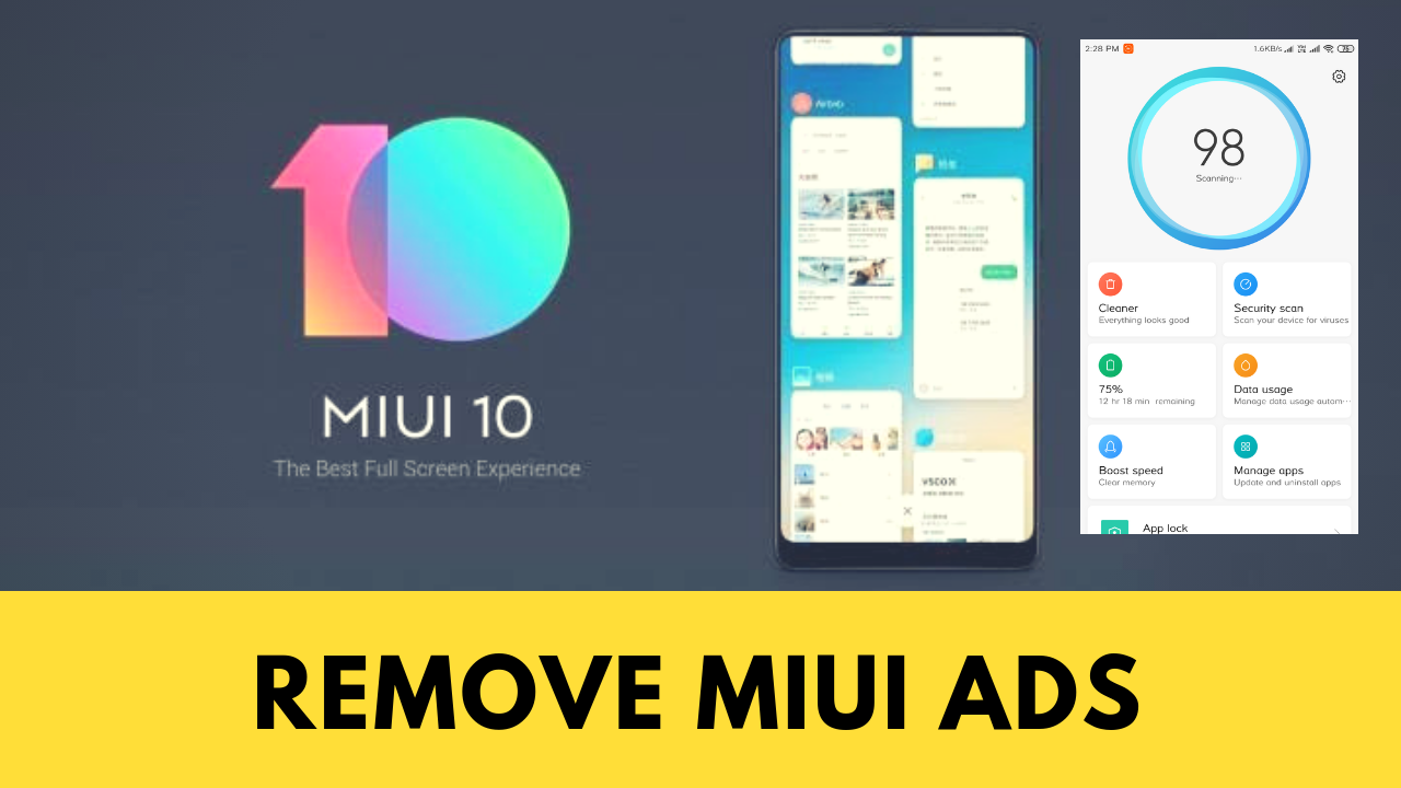 Disable Ads In MIUI - No Root, No Unlocking and Permanently