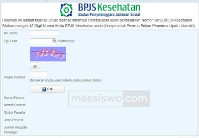 Cek Status BPJS Aktif