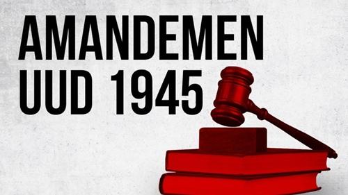Wacana Amandemen UUD 1945 Sarat Kepentingan Politik