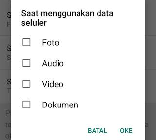 Cara Menghemat Kuota Saat Menggunakan WhatsApp