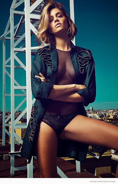Ana Beatriz Barros in Madame Figaro Spain magazine editorial