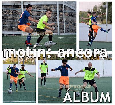 Fútbol Ancora Aranjuez Villarejo