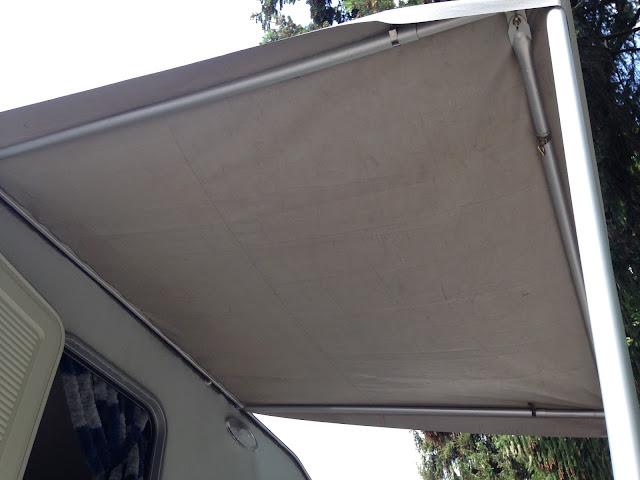 Kip Wohnwagen Regenschutz Eingang bauen DIY