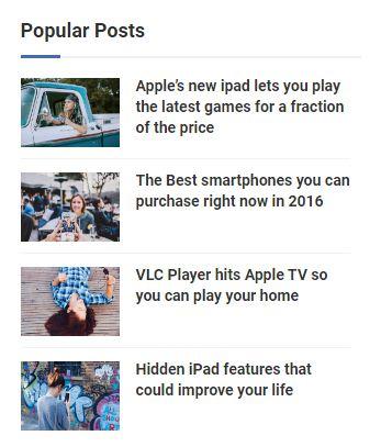 Widget Popular Posts