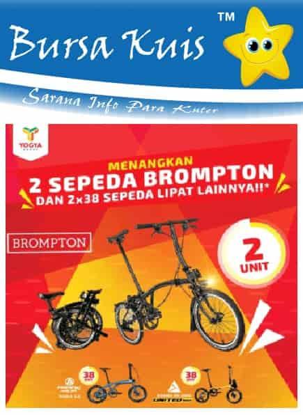 Kuis Promo Undian Terbaru Berhadiah Sepeda Brompton