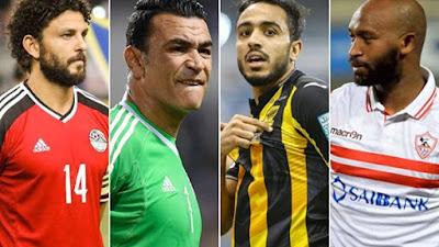 """غالي ومتعب والسعيد علي رأس 9 لاعبين مصريين أصابتهم """"لعنة"""" التجربة السعودية"""