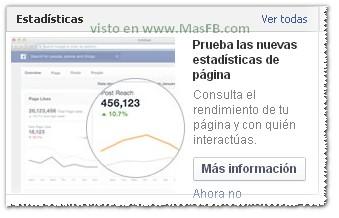 Nuevas estadísticas Facebook 2013
