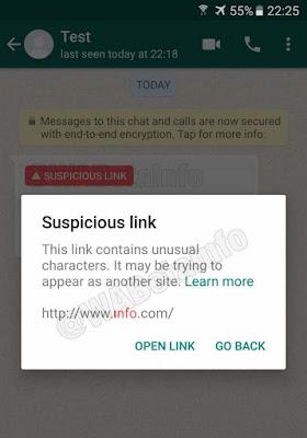 whatsapp te realizara una notificiacion con las irregularidades del sitio