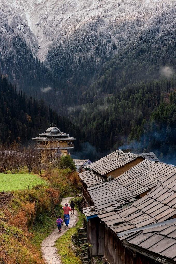 Tirthan valley Kullu Himachal Pradesh