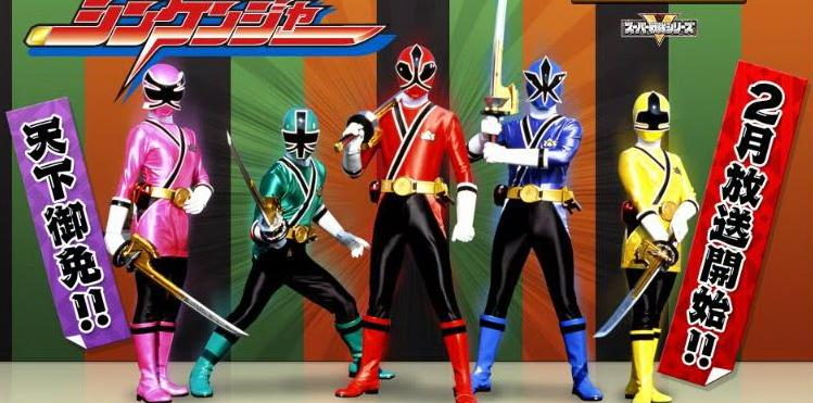 Hình ảnh 5 anh em siêu nhân thần kiếm đẹp nhất