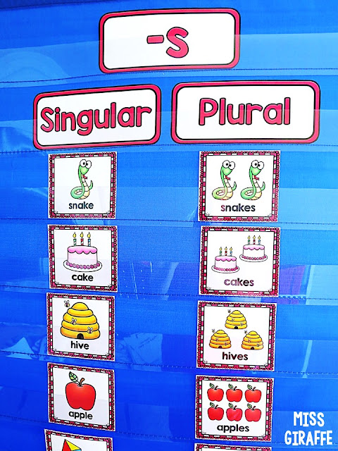 Singular vs plural nouns activities and awesome explanation of the rules