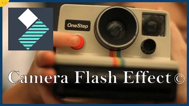 دورة تعلم وشرح filmora 9 مؤثرات إنتقال الكاميرا camera flash transition effect تعلم مونتاج
