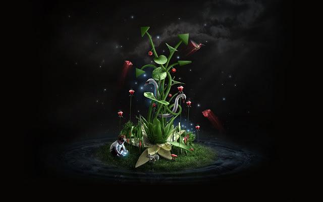 Poema para el Año Nuevo: En el Jardín de los espíritus, Francisco Acuyo