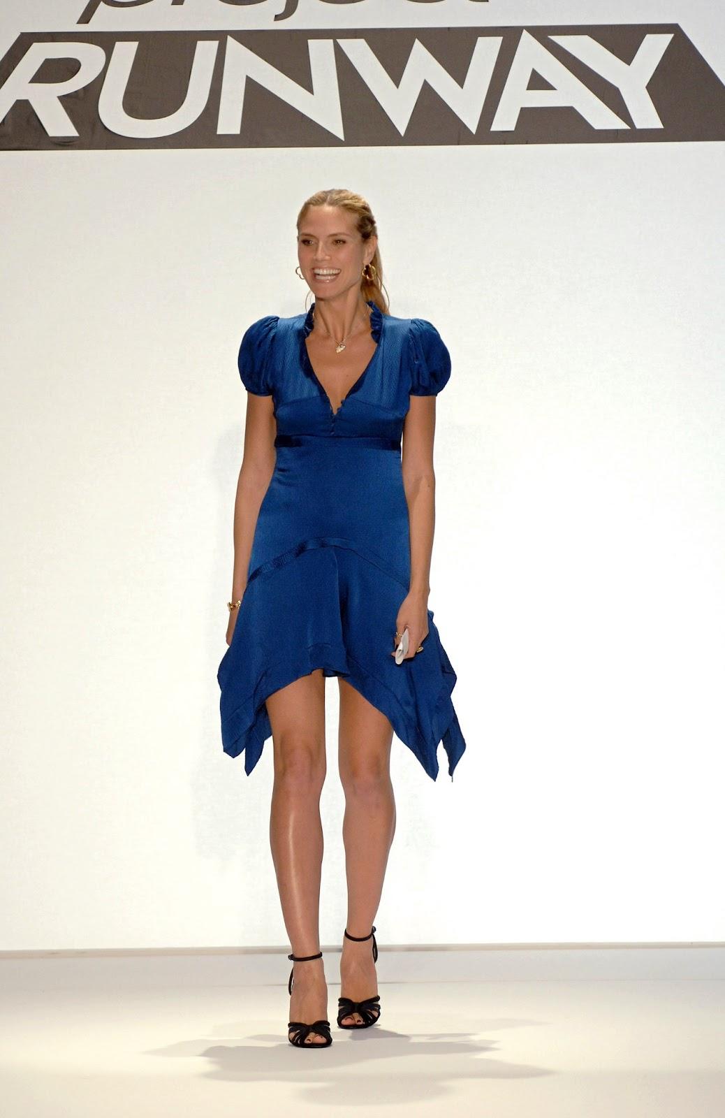 """Heidi Klum: Heidi Klum Bravo Kicks Off """"Project Runway"""