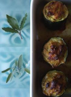 Zucchine con ripieno senza glutine