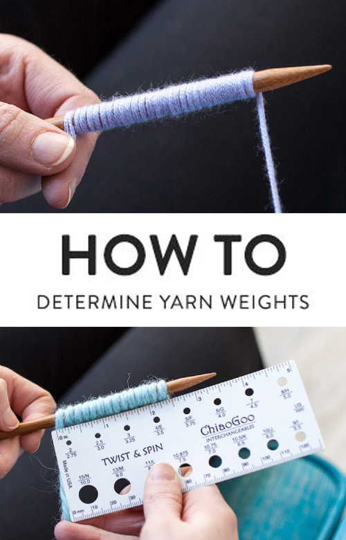 What Weight Is My Yarn? An Easy Way To Figure It Out | Amazing Knitting | Bloglovin' - Knitting Tutorial