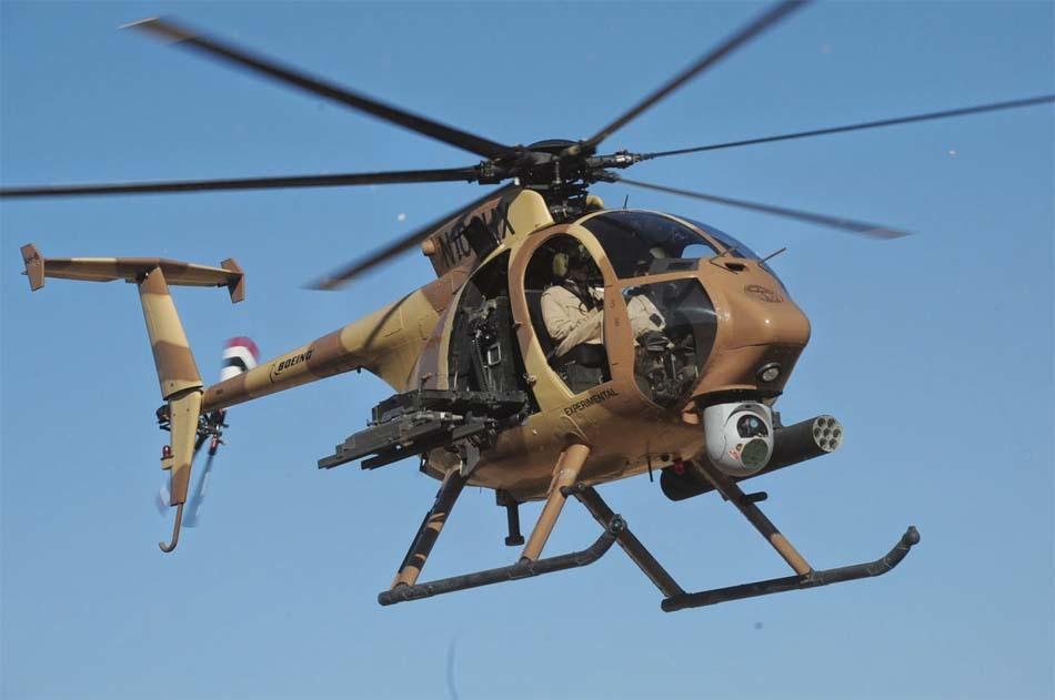 Гелікоптер AH-6