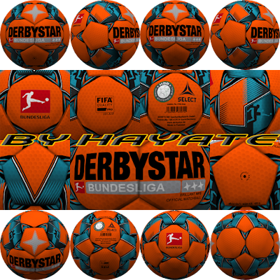 PES 6 Balls Derbystar Bundesliga Winter 2018/2019 by Hayate