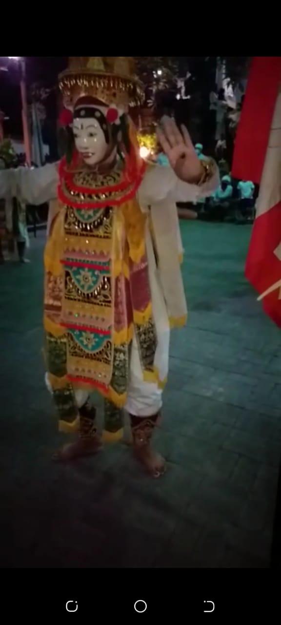 Upacara Napak Pertiwi Di Bali,Upaara Ritual Tolak Covid 19