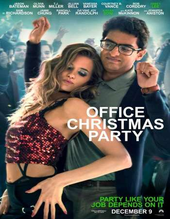 Office Christmas Party 2016 Full English Movie 450mb BRRip 720p HEVC Free Download Watch Online Downloadhub.in