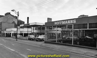 Hoffmans of Sheffield - Volvo dealer 1974
