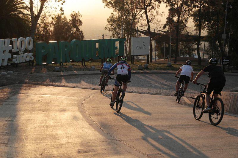Ciclistas muy furiosos golpean a guardias del Parque Metropolitano