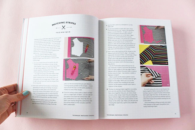 Inside Stretch - sewing with knit fabrics by Tilly Walnes