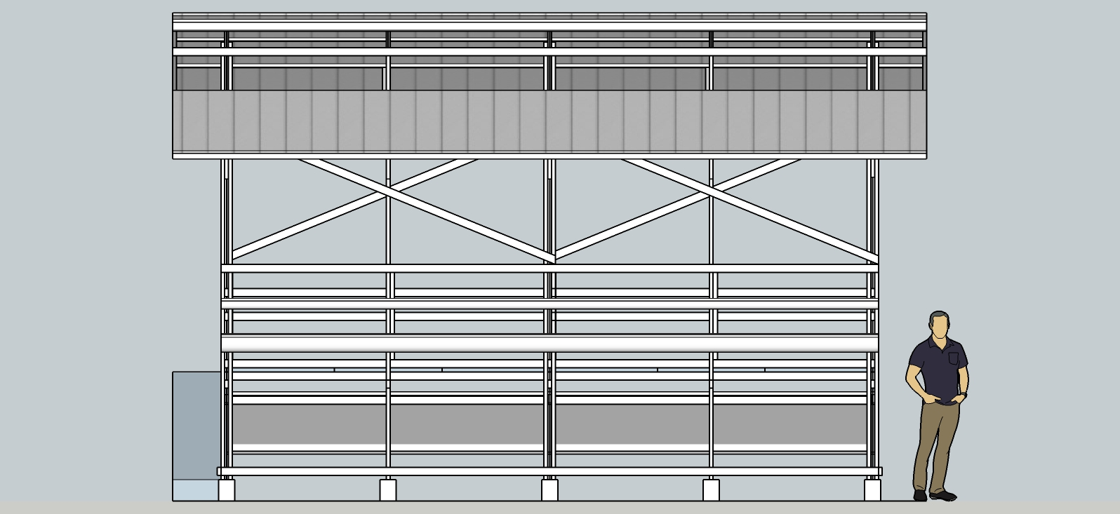 #rumahSKETCH IDea: Kandang Kambing Modern Konstruksi Baja ...