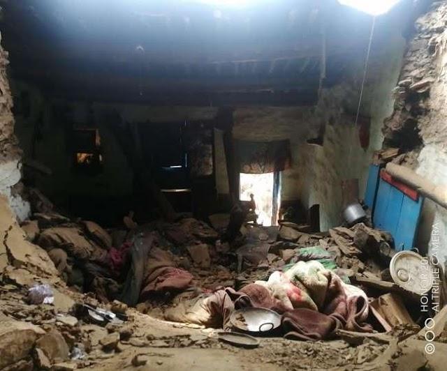 उत्तराखंड समाचार: भराभरा कर गिरी मकान की छत, महिला की हुई मौत ।