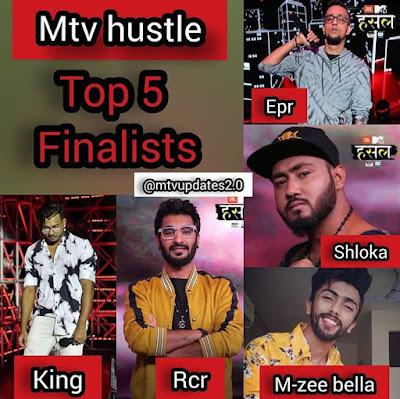 mtv hustle finalists