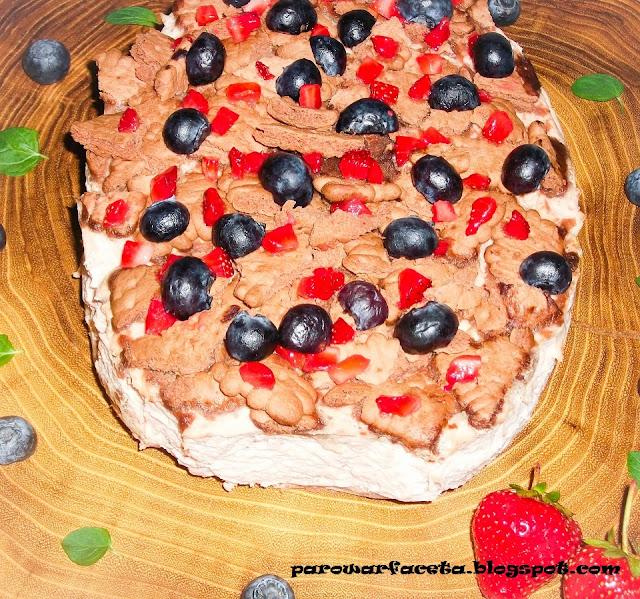 przepis na ciasto w parowarze