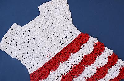 4 - Crochet Imagen Falda para canesú a crochet y ganchillo por Majovel Crochet