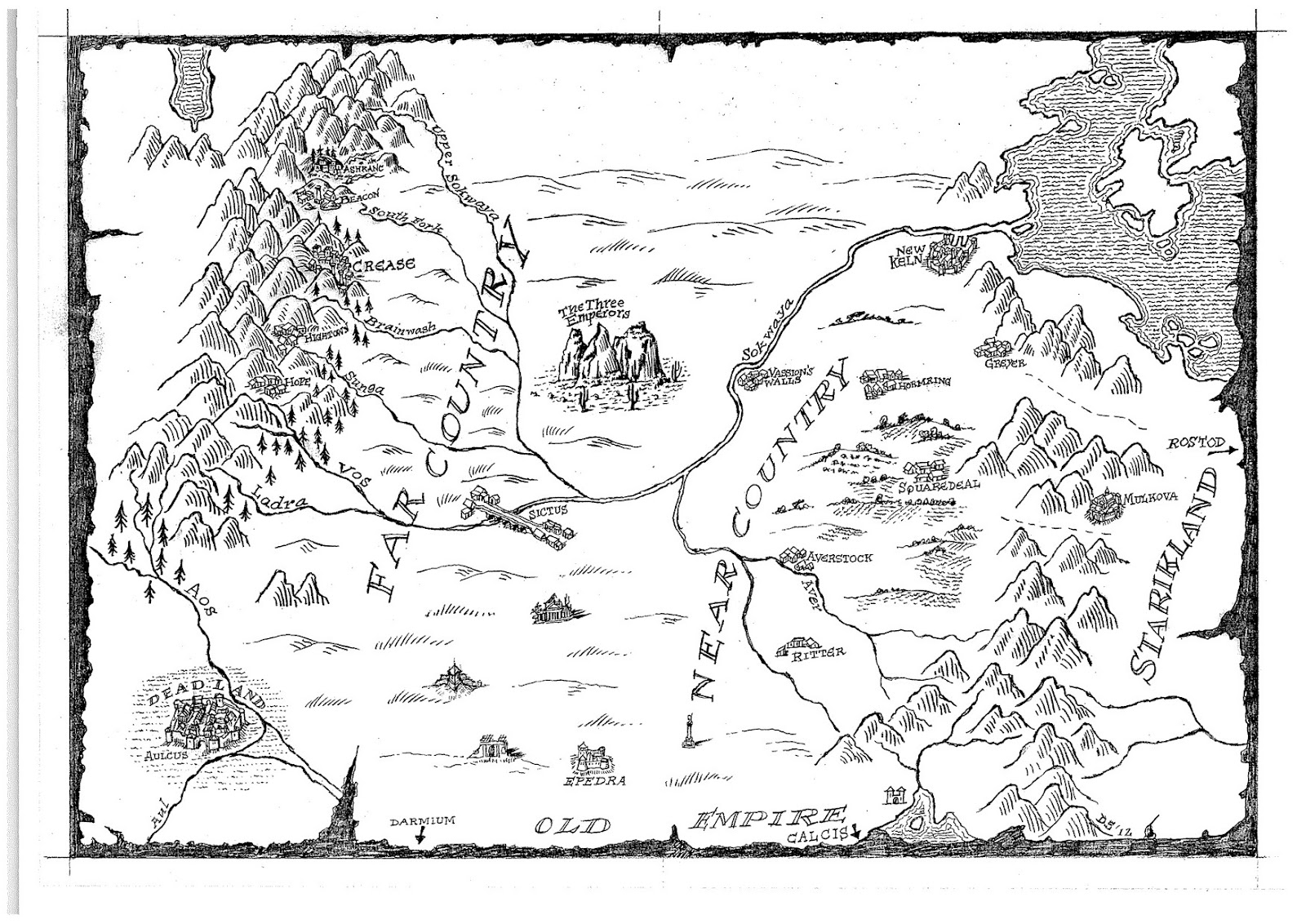 Images About Fantasy Maps