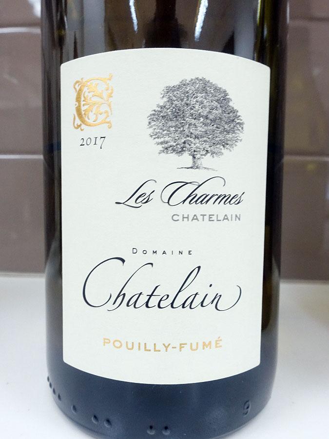 Chatelain Les Charmes Pouilly-Fumé 2017 (90+ pts)