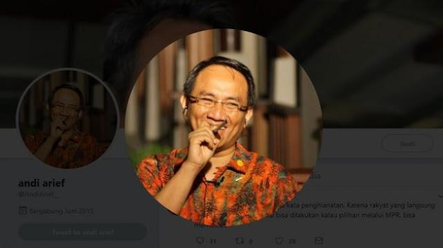 Jokowi Perintahkan Pembatasan Sosial, Andi Arief: Biar Terkesan Sudah Kerja