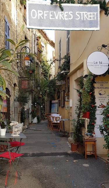 Rue des Orfèvres, Mougins