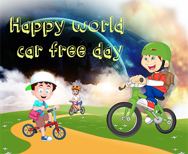 happy world car free day pics status for facebook