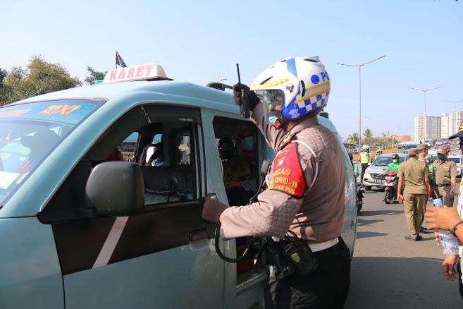 OPS Yustisi, Sat Lantas Polres Jakpus Jaring Pelanggar yang Melebihi Batas