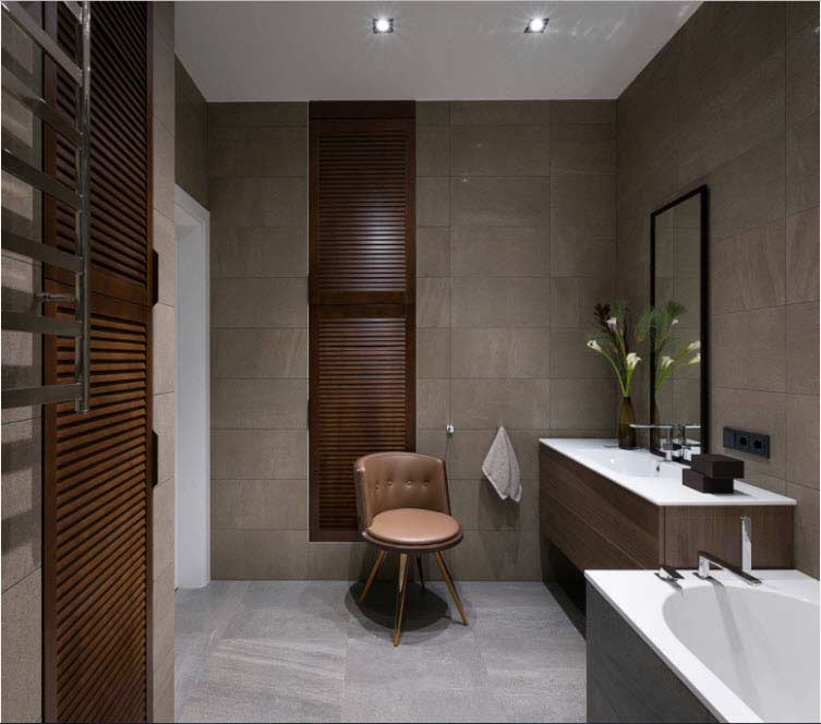 Contemporary bathroom tiles design ideas and trends 2018 for Bathroom interior design trends 2018