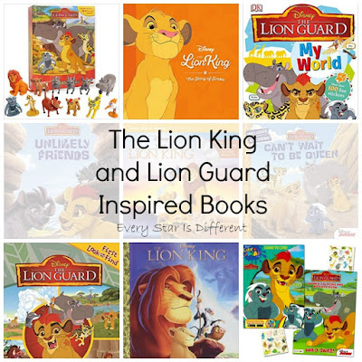 The Lion King and Lion Guard Inspired Books