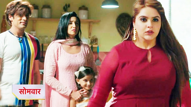Big Twist : Kulfi Lovely in tight spot as Chandan endangers Amyra in Kulfi Kumar Bajewala