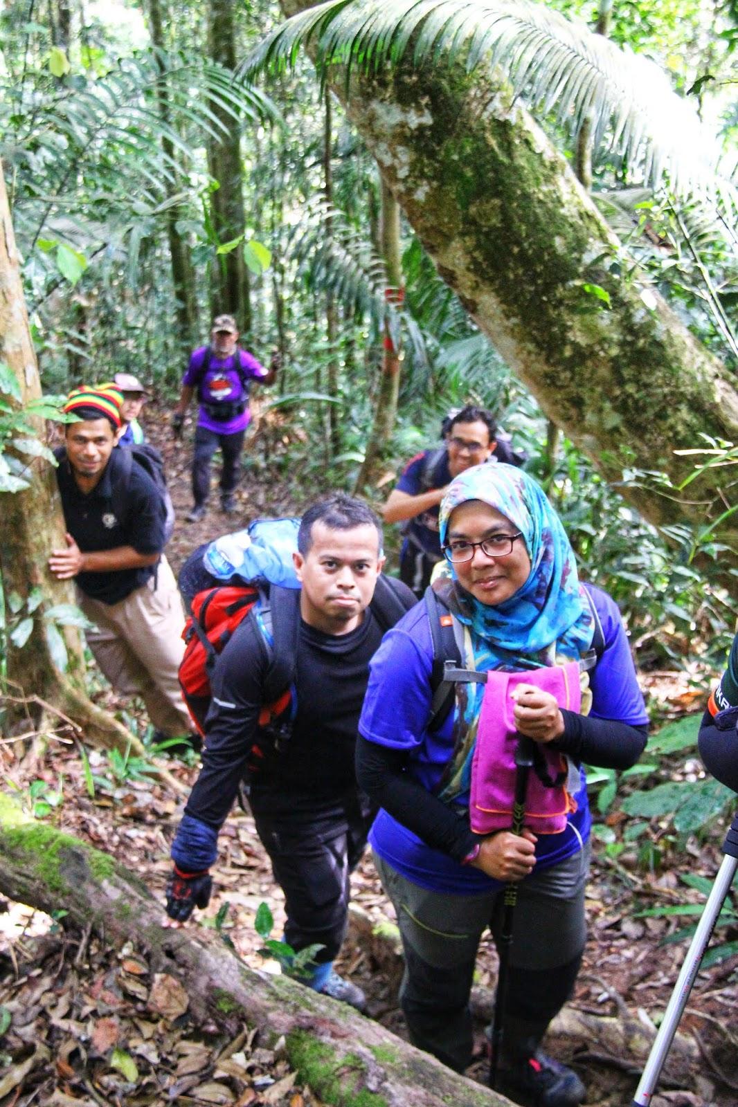 Trek Gunung Telapak Buruk 6