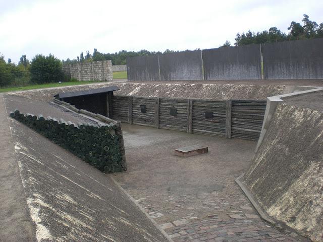 Campo de concentração Sachsenhausen na Alemanha