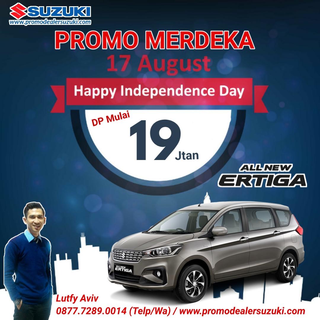 Promo Suzuki Ertiga Spesial Merdeka 2020 Promo Suzuki Jakarta