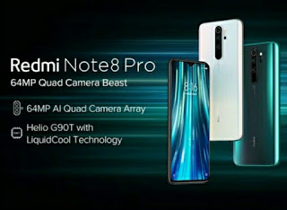 What is the price of redmi Note 8 Pro in India