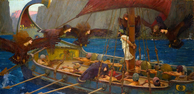 Ulysses and the Sirens, 1891 by John William Waterhouse